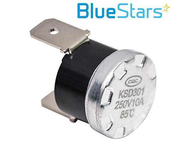 Exact Fit For Whirlpool /& Kenmore Dishwashers Replaces WP661566 3371618 W10339474 AP6010246 PS11743423 661566 Dishwasher High Limit Thermostat Replacement Part by Blue Stars