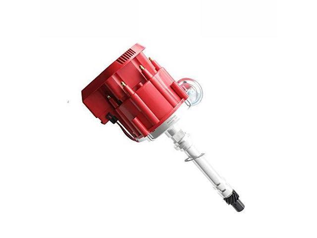 New Racing HEI Distributor Red Cap Super Coil for Chevy SBC 305350400 Small  Block 1035001 HEI - Newegg com