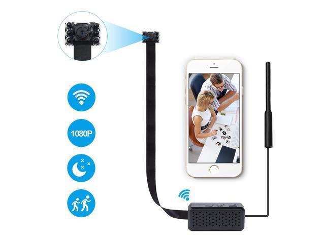 Motion detect smallest pinhole spy Video audio hidden nanny DIY camera recorder