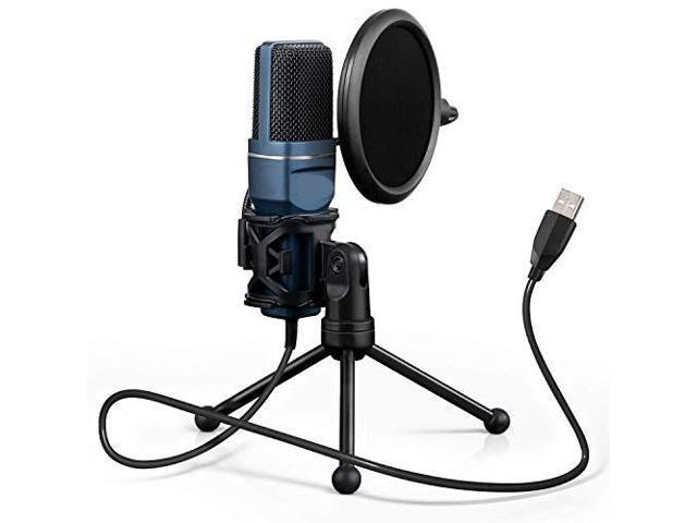 USB Gaming Microphone Computer Condenser PC Mic with Tripod Stand Pop  Filter for Streaming Podcasting Vocal Recording Compble with iMac PC Laptop  Desktop Windows Computer TC777 - Newegg.com | Gxl1200 Microphone Wiring Diagram |  | Newegg.com