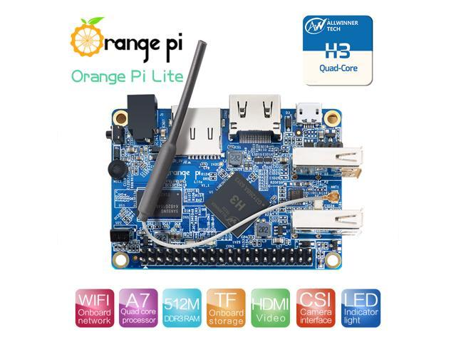 Orange Pi Lite 512MB DDR3 with Quad Core 1 2GHz WiFi antenna Support  Android, Ubuntu Image - Newegg com