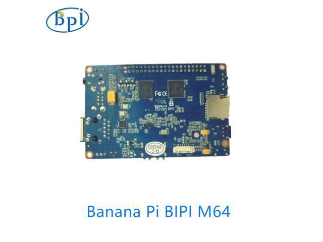 Quad-Core 64-Bit Single Board Computer Banana Pi BPI-M64
