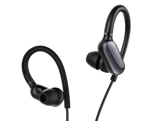 Xiaomi Mi Sports Bluetooth Earphones Mini Lightweight Ipx4 Water Resistant Anti Slip Hook Design Newegg Com