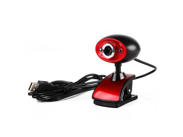 High Definition HD USB 16MP Digital Webcam Web Camera with MIC Built-in  Microphone for PC Computer Laptop Tablet Black+Red - Newegg ca