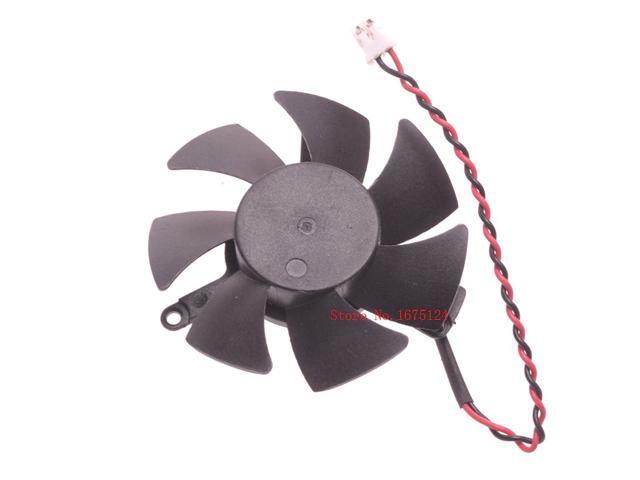 45mm 0 1A 2pin VGA cooler graphics Card cooling Fan For ELSA GLADIAC GT 430  LP 1GB GD430-1GERGL Cooling - Newegg com
