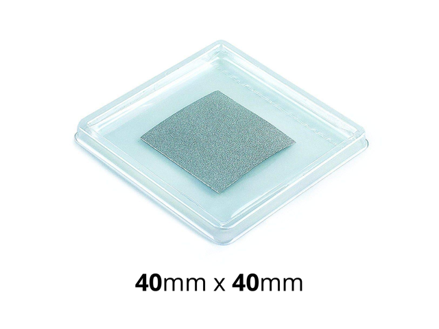 Indium Foil Cooling Thermal Pad Alternative to Thermal Paste//Grease 40*40mm