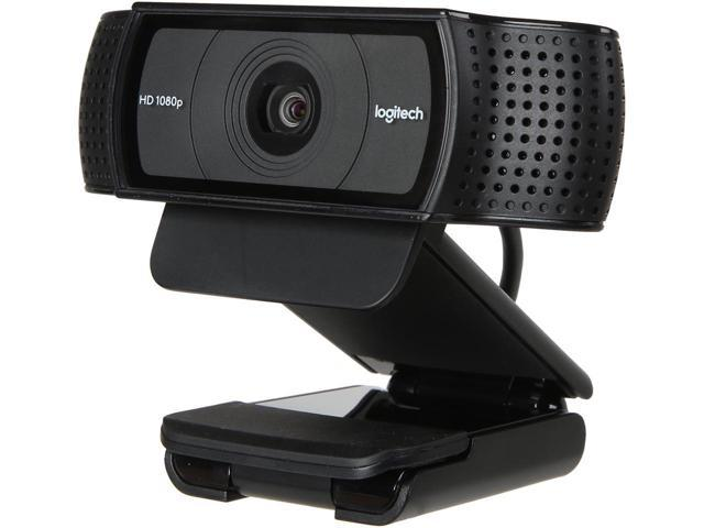 High Performance Logitech Hd Pro Webcam C920 Widescreen Video Calling And Recording Full Hd 1080p 720p Camera Fast Uploads With H 264 Desktop Or Laptop Webcam For Windows Mac Os Android Webcam Newegg Com