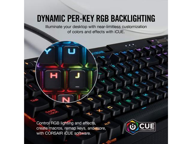 Corsair K70 RGB MK 2 RAPIDFIRE Cherry MX Speed Mechanical Gaming