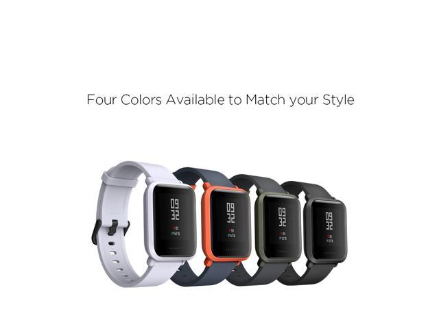 Amazfit Bip Smartwatch with All-day Heart Rate and Activity Tracking, Sleep  Monitoring, GPS, Ultra-Long Battery Life, Bluetooth, US Version -