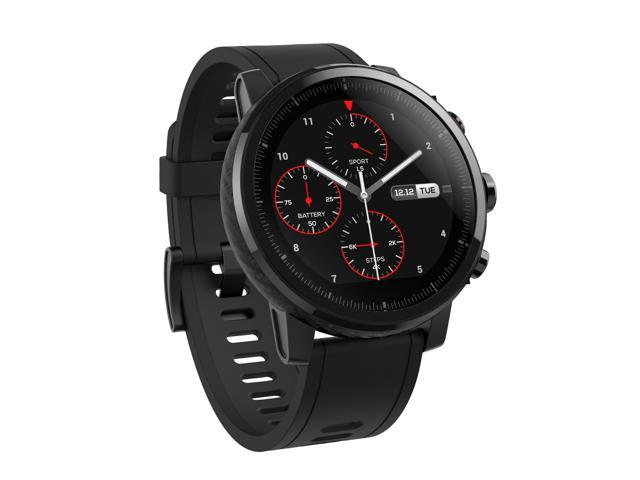 Amazfit Stratos Multisport Smartwatch by Huami with VO2max, All-day Heart  Rate and Activity Tracking, GPS, 5 ATM Water Resistance, Phone-free Music,
