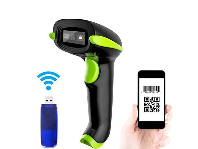 Wireless /& Wired 2D QR Code Mobile Phone Screen Imager Barcode Scanner Reader