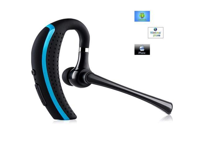 Bluetooth Headset Wireless Earpiece Hands Free Business Earphones In Ear Earbuds With Noise Canceling Mic For Business Office Driving Work For Iphone Samsung Android Cell Phones Newegg Com