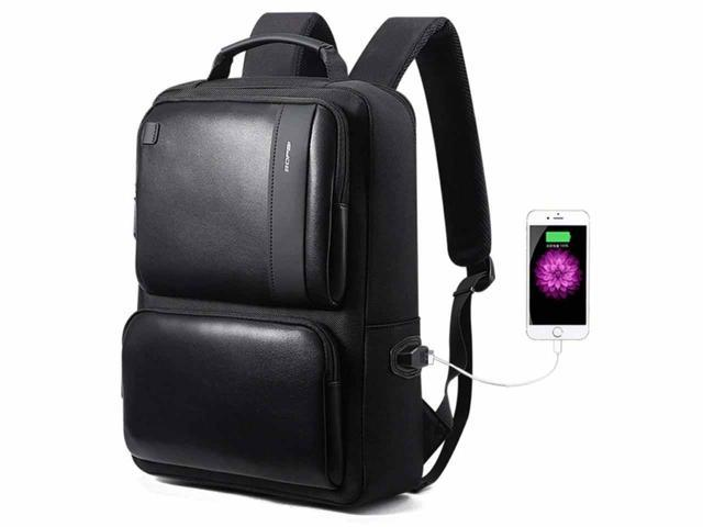 92d6a85a2bd3 Bopai Anti Theft BackpackSlim Business Laptop Bag Backpack for Men  Waterproof Travel Backpack with USB Charging Port Fits 15 Inch Laptop  Notebook ...