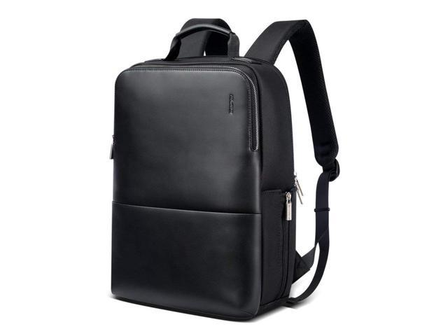 b7f2b25b0 Bopai Slim Business Laptop Backpack for Men Anti Theft Backpack College  Shoulder Rucksack Waterproof Synthetic Leather Travel Backpack with USB  Charging ...