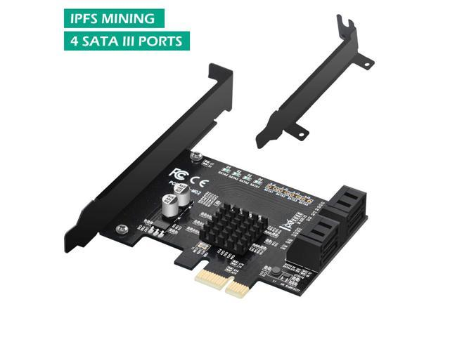Expansion Card Controller 3.0 Expansion Card 4-Port 3.0 Expansion Controller Card Adapter 6G