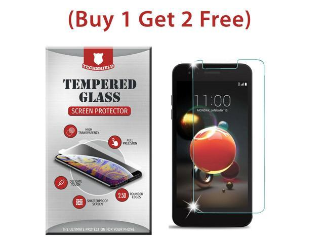 Clear HD Tempered Glass Film Screen Protector For LG Fortune 2 LMX210CM -  Newegg com