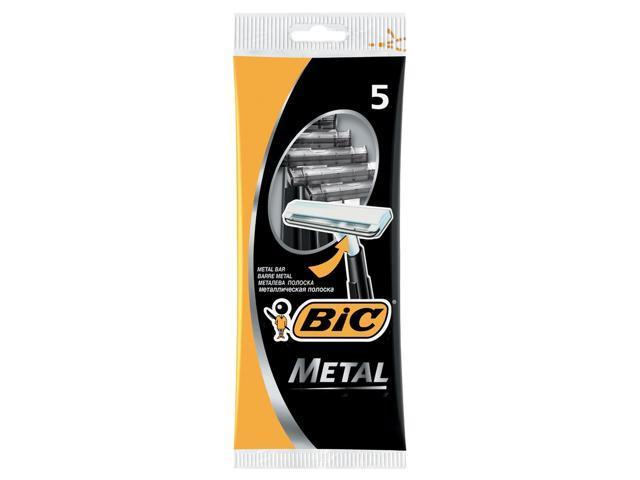 Bic Metal Disposable Razor 5 Count Newegg Com