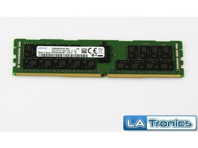 Samsung 32GB DDR4-2666 PC4-21300 RDIMM 1 2V 288-pin ECC