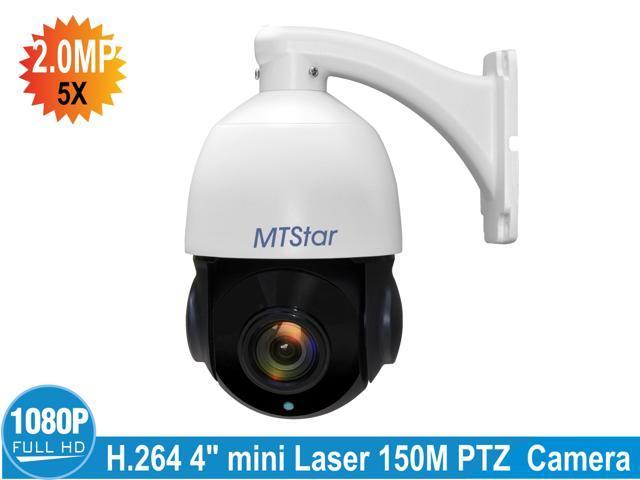 MTStar PTZ Security Camera, 2MP PoE IP Dome Camera, HD 1080P Pan Tilt 5x  Optical Zoom, High Speed Outdoor Dome Camera Waterproof IP66 - Newegg com