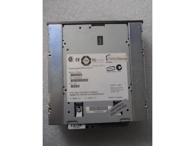 Refurbished: HP STORAGEWORKS DAT72 Digital Data Storage Internal Tape Drive  SCSI C7438 - Newegg com
