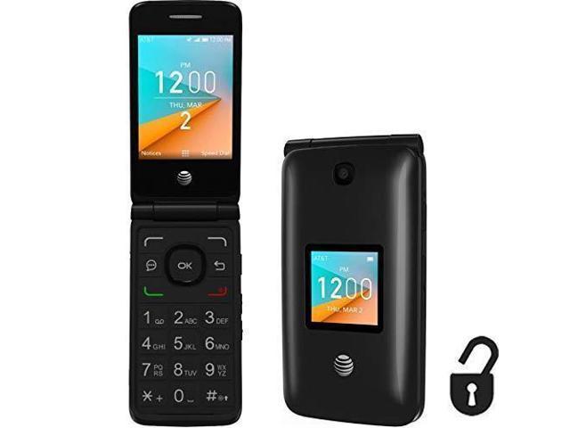 Ongekend Alcatel Cingular Flip 2 4G LTE FlipPhone Bluetooth WIFI MP3 TE-48
