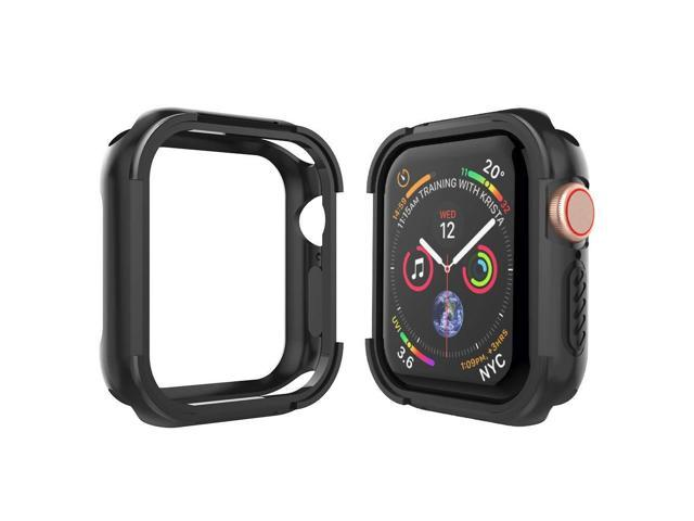 new product 8ce9b 98c8b Alritz Compatible Apple Watch Case Series 4 44mm, Shock Resistant Bumper  Cover Rugged Protective Case Apple Watch Series 4 (Black) - Newegg.com