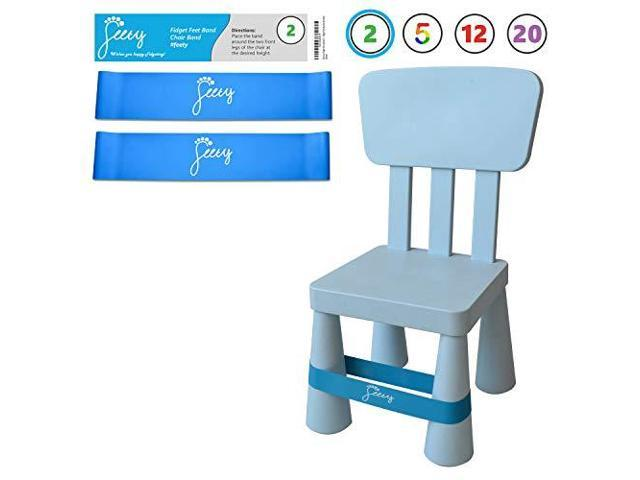 Fantastic Chair Bands For Adhd Kids 2Pack Bouncy Kick Fidgets For Short Links Chair Design For Home Short Linksinfo