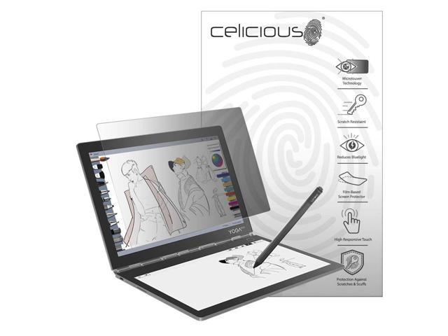 Celicious Privacy 2-Way Anti-Spy Filter Screen Protector Film Compatible with Lenovo Yoga Book