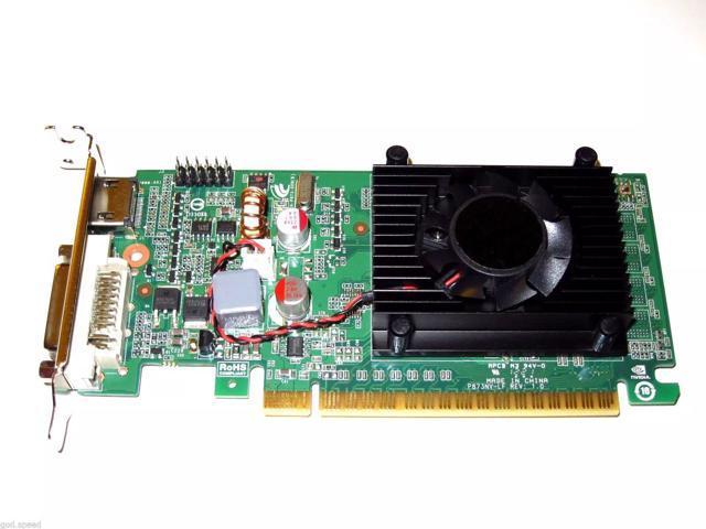 HP Elite 8300 Pro 6300 6200 SFF Low-Profile Dual VGA Monitors Video Card PCI-e