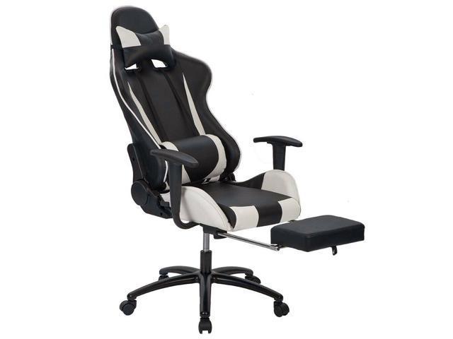 Wondrous White Office Chair High Back Computer Racing Gaming Chair Ergonomic Chair Rc1 Uwap Interior Chair Design Uwaporg