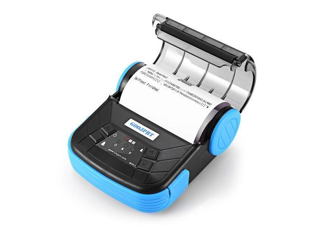 GOOJPRT MTP - 3 Portable 80mm Bluetooth 2 0 Android Thermal POS Printer -  Newegg com