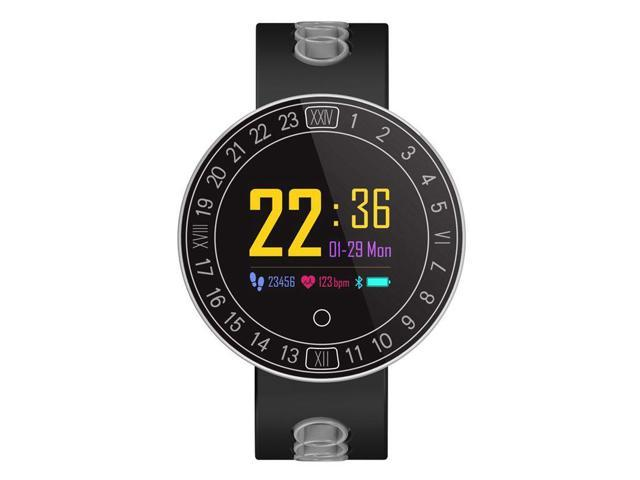 Q8Plus Bluetooth Smartband IP68 Waterproof Step Heart Rate Blood Pressure  Paint Dial - Newegg ca