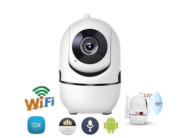 Wireless Smart IP WiFi HD IR Cut Home Security Camera 1080P 2 Way Audio Monitor