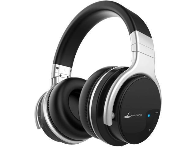 Meidong E7b Active Noise Cancelling Headphones Bluetooth Wireless Headphones With Microphone Over Ear 30h Playtime Deep Bass Hi Fi Stereo Headset Newegg Com