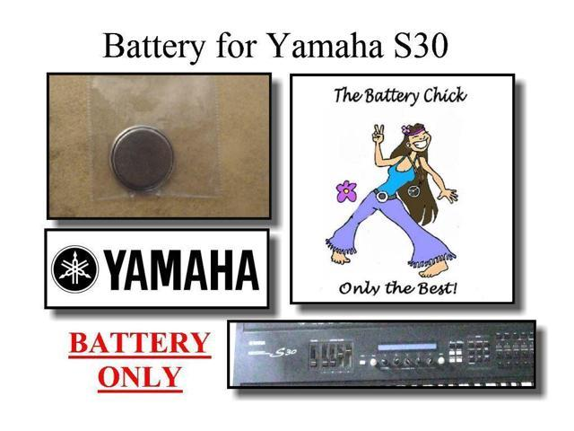 Battery for Yamaha S30 Synthesizer - Internal Memory Replacement Battery -  Newegg com