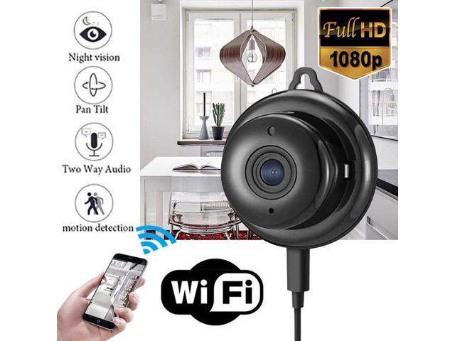 1080P HD Mini Wireless Wifi Camera Motion Detection Night Vision with Holder