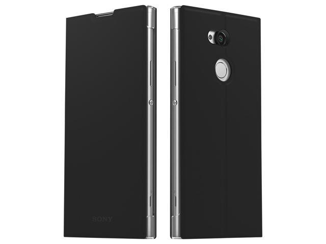 new products be399 da6a8 Official Sony style cover stand, flip case for Sony Xperia XA2 - Black -  Newegg.com