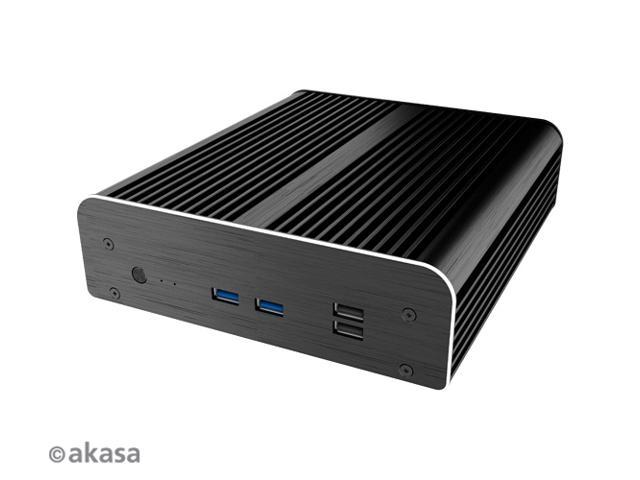 AKASA Newton S7D Fanless case for 7th Generation Intel® NUC boards (Dawson  Canyon) - A-NUC38-M1B - Newegg com