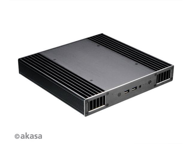 AKASA Plato X8, Low profile fanless case for 8th Generation Intel® NUC   Supports Intel® Core™ i3, i5, i7 processors  (Model Number: A-NUC43-M1B) -