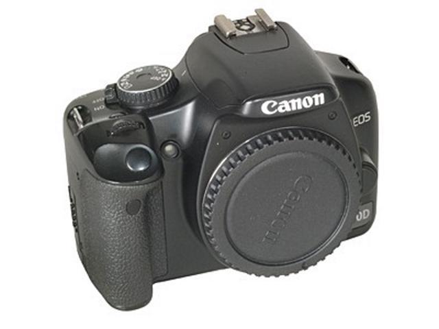 Canon EOS 450D Black (Euro Rebel XSI) Digital SLR Camera Body {12 M/P} -  With Battery and Charger - Newegg com