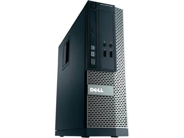 Refurbished: Dell Desktop Computer Optiplex 390 Small Form Factor SFF Intel Core i3-2120 3.3 GHz 4GB DDR3 250GB HDD DVD Windows 7 Pro 64 Bit 2 Year Warranty - OEM