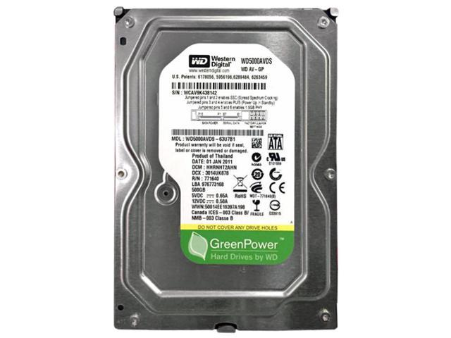 WD Grade A WD5000AVDS 500GB 3 5