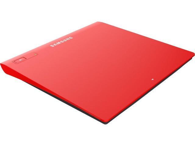 SAMSUNG TSST Ultra-Slim Optical Drives SE-208GB/RSRD Red, M-Disc Support,  MAC OS X compatible - Newegg com