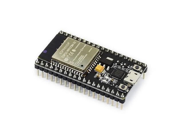 Waveshare NodeMCU-32S ESP32 ESP8266 Development Board with WiFi+Bluetooth  Connectivity Onboard CP2102 and Keys All The I/O pins of ESP-WROOM-32  Module