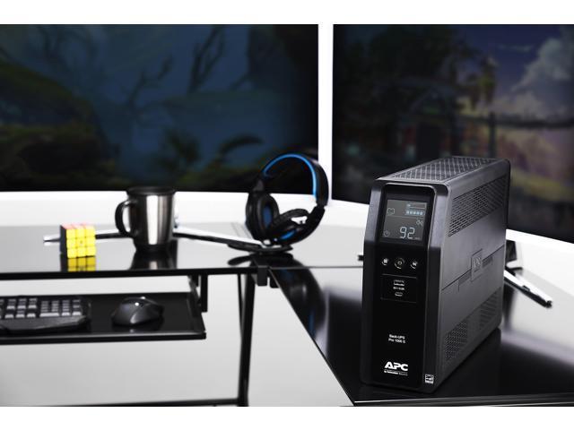 APC 1000VA Back-UPS Pro Sinewave UPS Battery Backup & Surge Protector  (BR1000MS) - Newegg ca