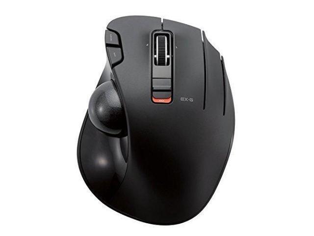 eb1b27377d6 ELECOM M-XT3DRBK Wireless Trackball mouse 6 button Tilt function, Black