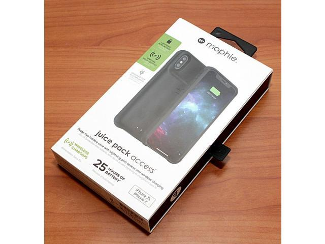 best service 86a24 49c5b NEW Homelife Juice Pack Access iPhone XS iPhone X Battery Case Wireless  Charging - Newegg.com