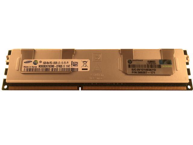 16GB Hynix PC3-8500R 4Rx4 DDR3 1066MHz ECC Server DIMM HP P//N:500207-071