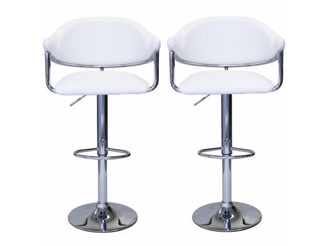 Swell Viscologic Airstream Height Adjustable Swivel Bar Stool Set Of 2 Stools Uwap Interior Chair Design Uwaporg