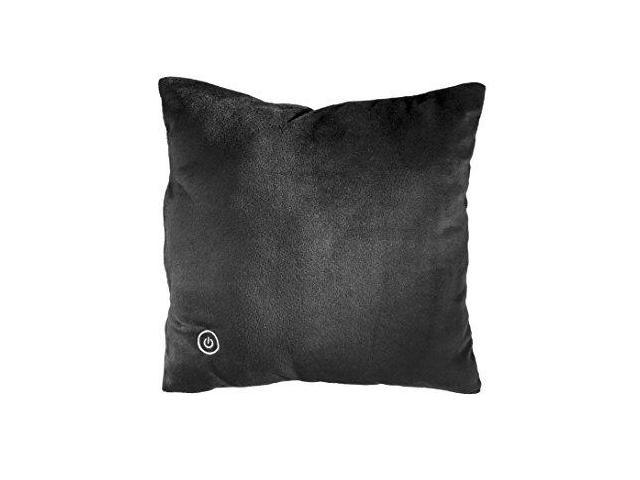 Sharper Image SMG4003BK Vibrating Plush Pillow, Travel Friendly,  Hypoallergenic, Soft & Lightweight, Battery Operated - Newegg com